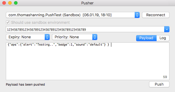 pusher example